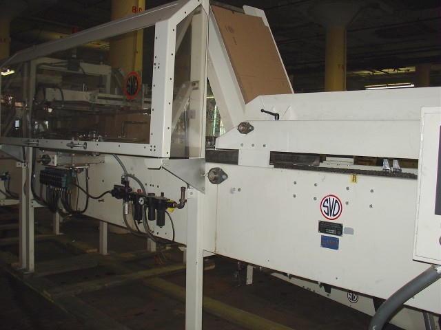 Case Packer S.V. Dice side-load case packer model 127EL, up to 12 cpm4