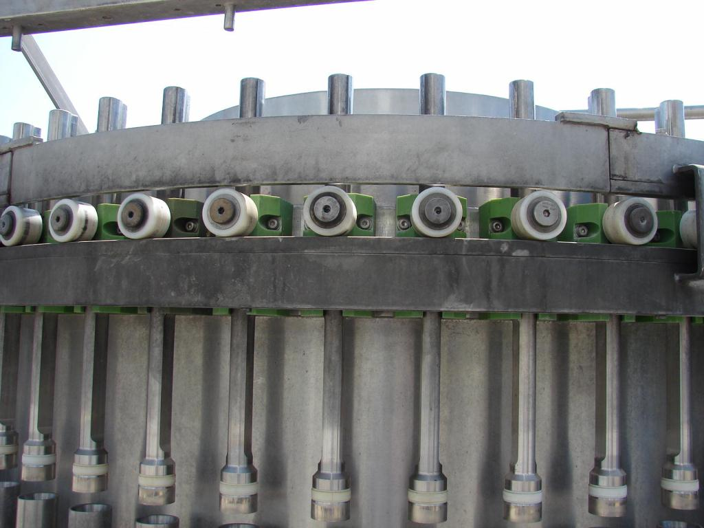Filler 50 piston Hema piston filler model MR50, up to 1200 cpm5
