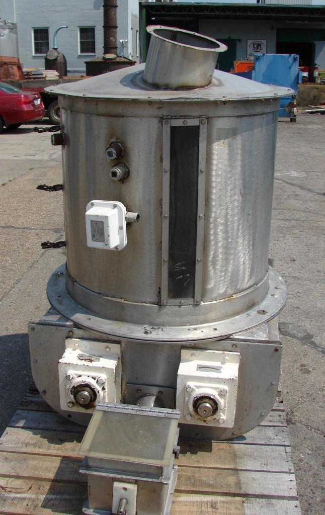 Feeder 4 Acrison screw feeder Stainless Steel Contact Parts4