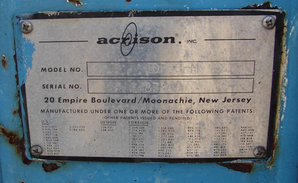 Feeder 4 Acrison screw feeder Stainless Steel Contact Parts6