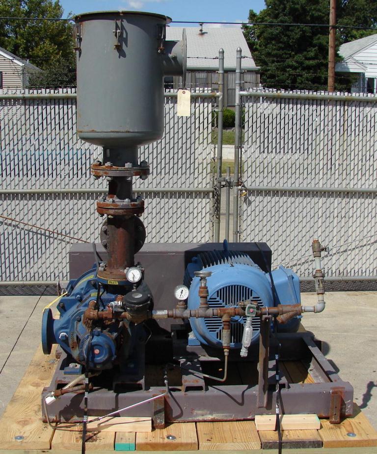 Pump 750 cfm Nash vacuum pump model XL130/7 60 hp, CS1
