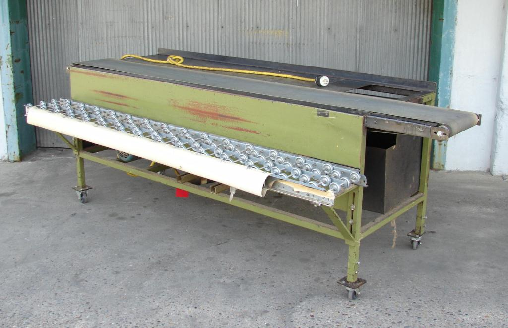 Conveyor belt conveyor 12 w x 102 l1