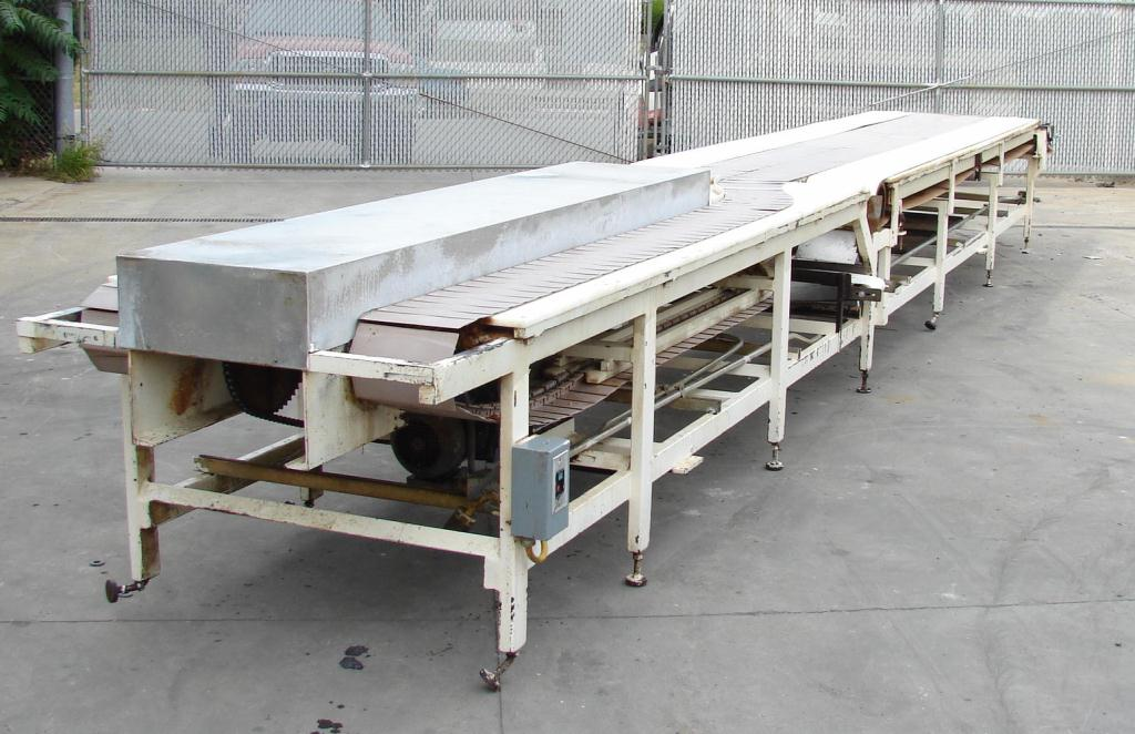Conveyor 10w x 268 l table top conveyor