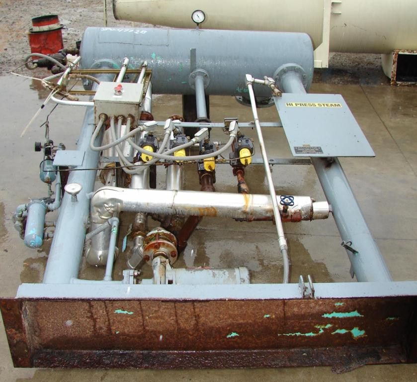 Dryer 270 cu.ft. capacity Vacudyne Corporation fumigator CS2
