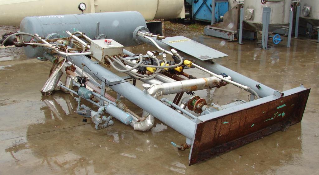 Dryer 270 cu.ft. capacity Vacudyne Corporation fumigator CS3
