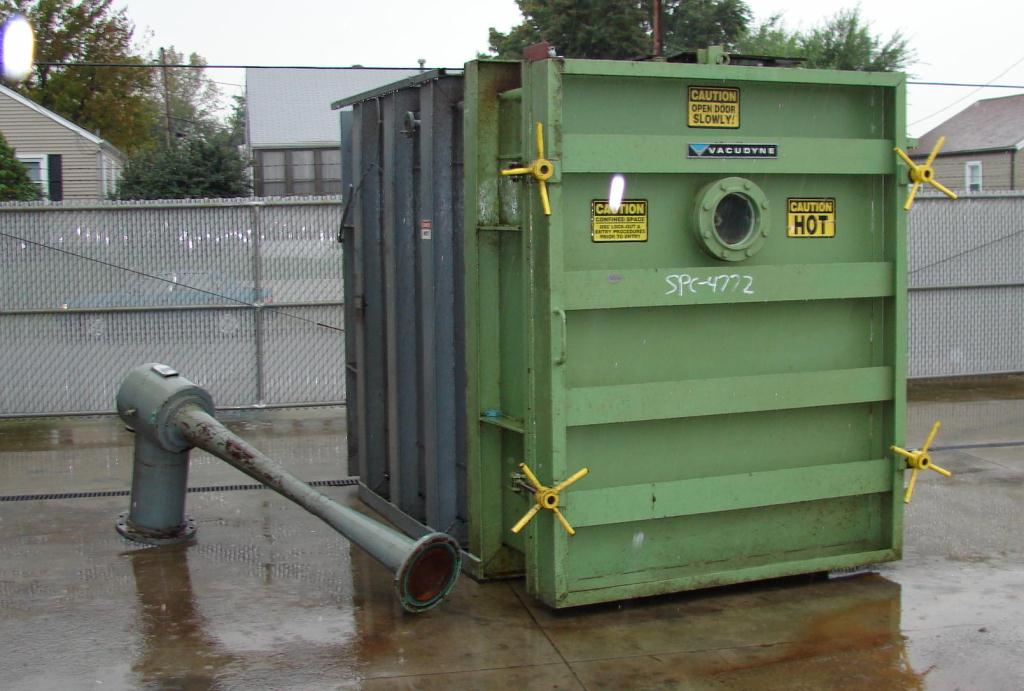 Dryer 270 cu.ft. capacity Vacudyne Corporation fumigator CS7