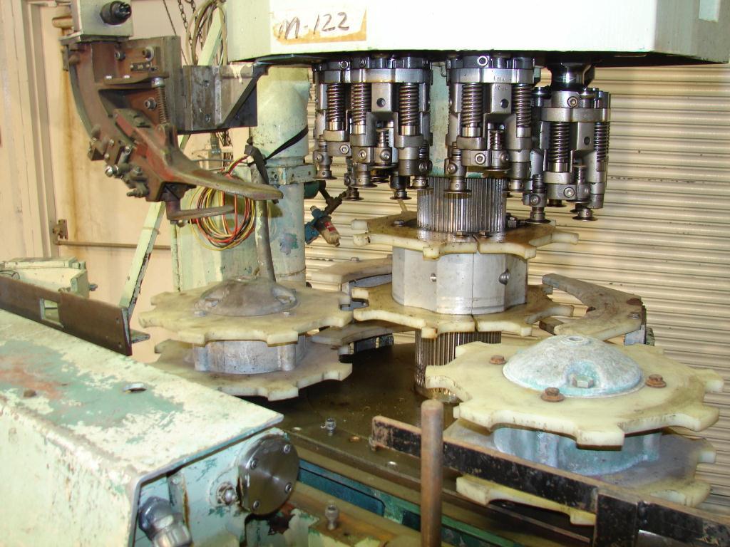 Capping Machine Alcoa ropp capper model 212-4-36, 30mm, 400 bpm4