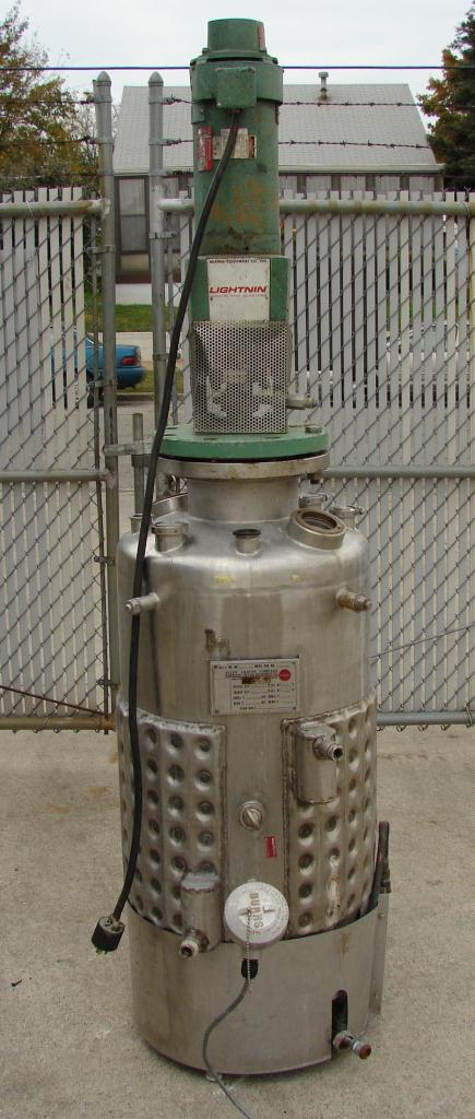Reactor 50 gallon Alloy Crafts chemical reactor, 50 psi internal, 125 psi jacket, 3/4 hp agitator1