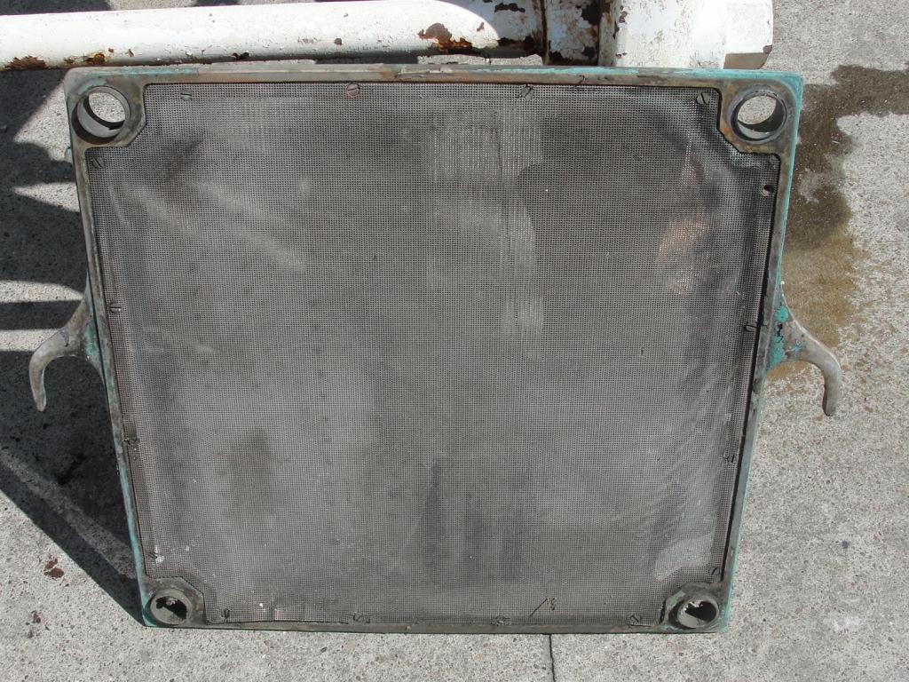 Filtration Equipment 75 sq.ft. Ertel plate and frame filter Brass, 25 plates, 1.1 Cuft capacity5
