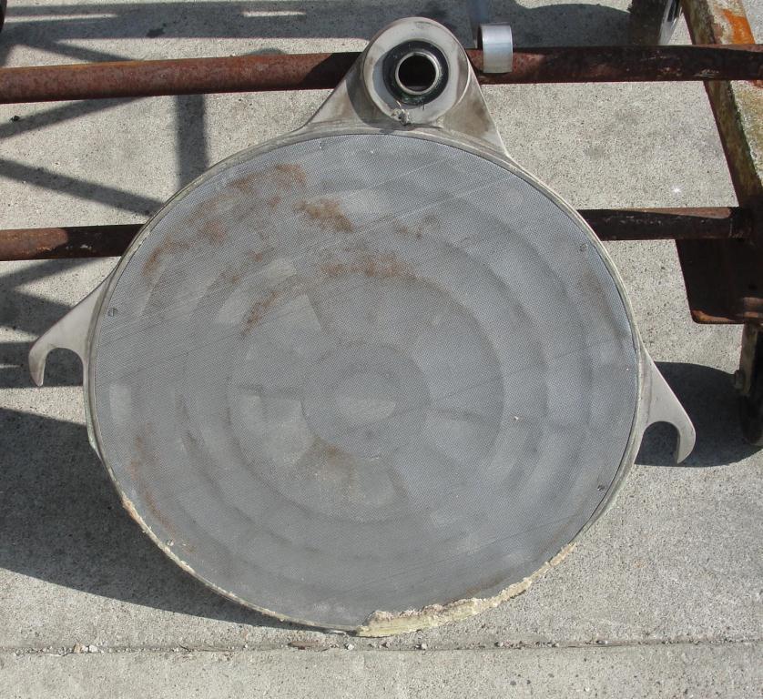 Filtration Equipment 78 sq.ft. Ertel plate and frame filter model EX, Brass, 35 plates, 2.5 cu.ft. capacity5