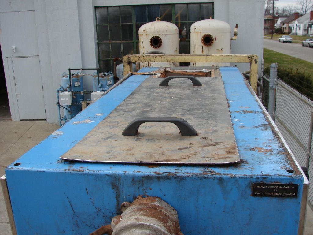 Feeder 12 wide Control and Metering weigh belt feeder, 1 x 63