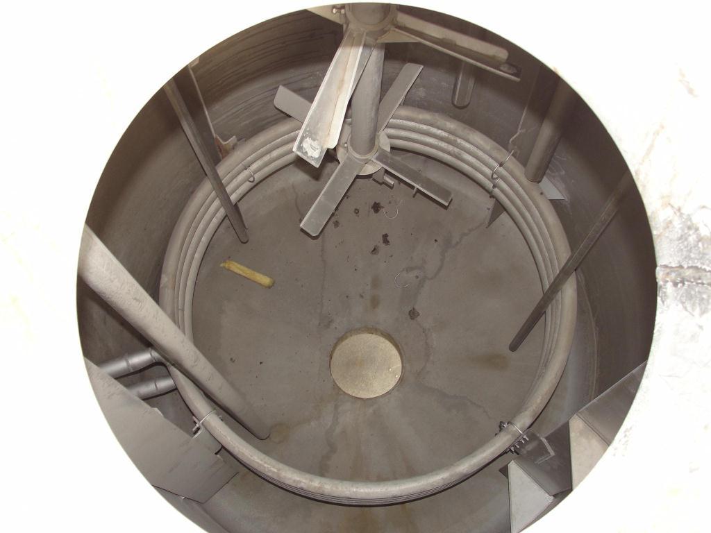 Tank 1970 gallon vertical tank, 304 SS, 25 psi @ 200f internal, dish Bottom2