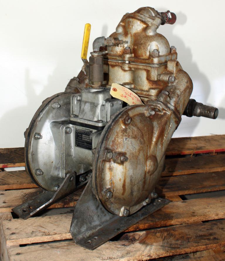 Pump 2 SandPiper diaphragm pump, CS3