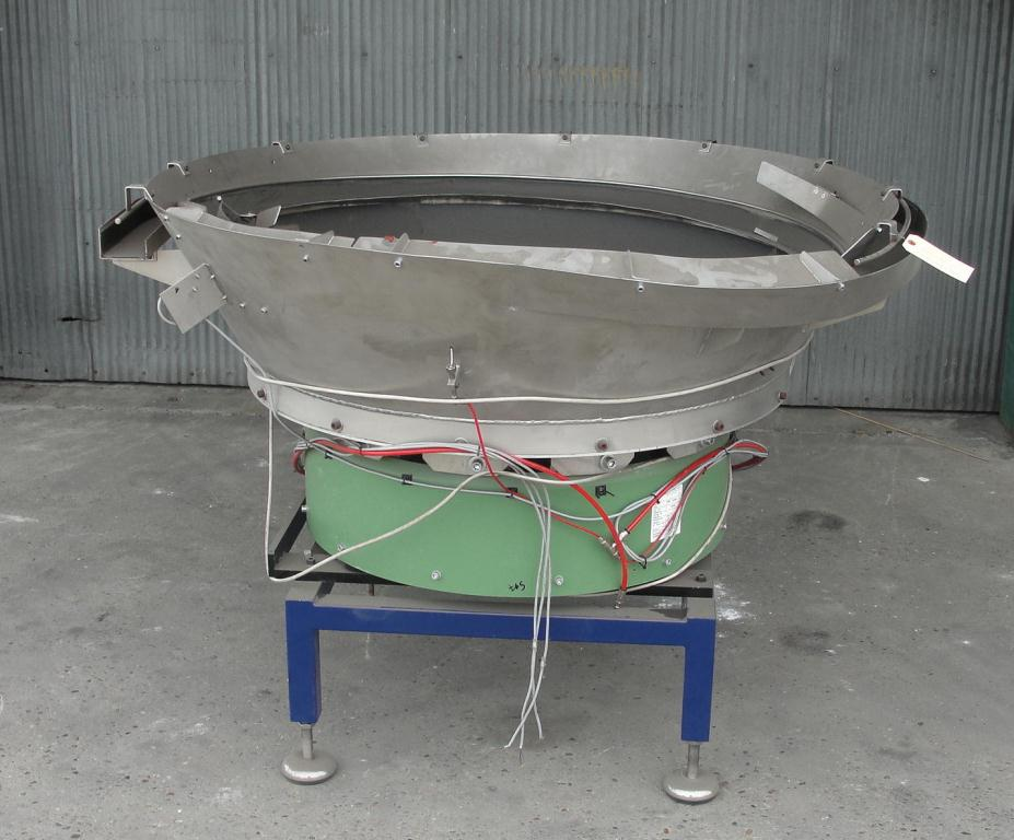 Feeder 56diameter Rhein-Nadel Automation vibratory bowl feeder Stainless Steel1