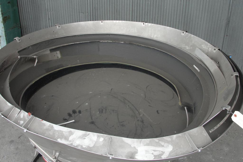 Feeder 56diameter Rhein-Nadel Automation vibratory bowl feeder Stainless Steel2