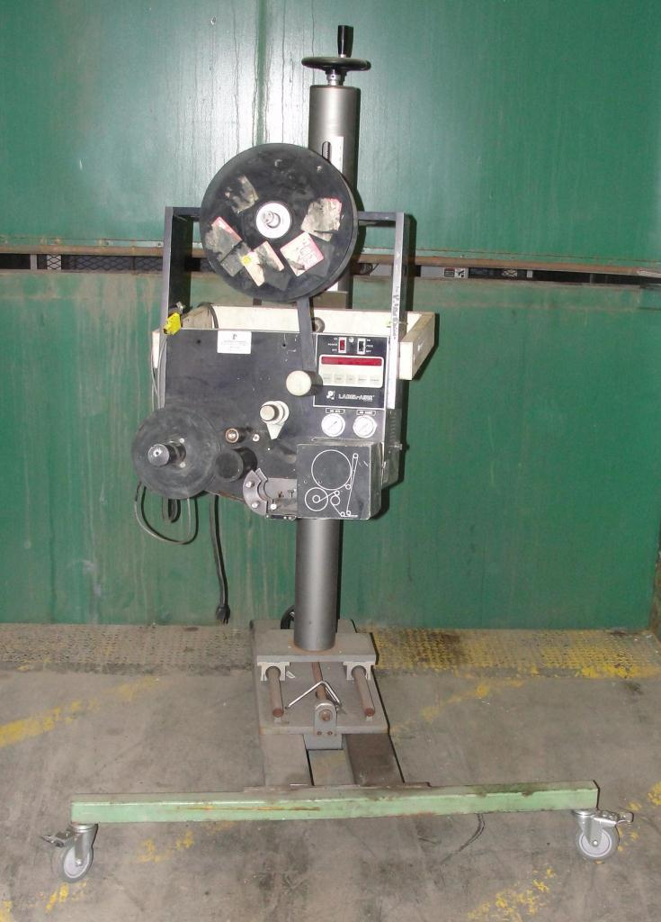 Labeler Label-Aire pressure sensitive labeler model 2111M, blow on, 1500 fpm