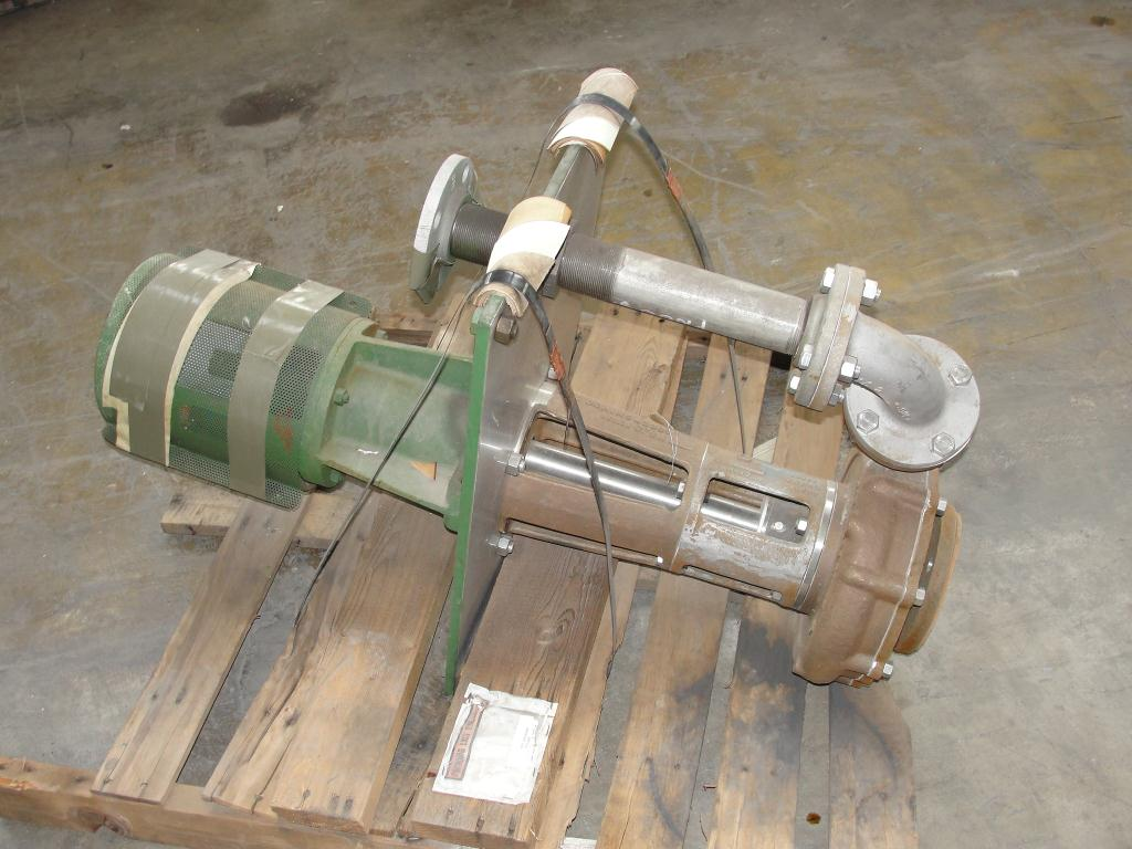 Pump 3x2x8.875 Deming vertical centrifugal pump model 5562/2M, 316 SS2