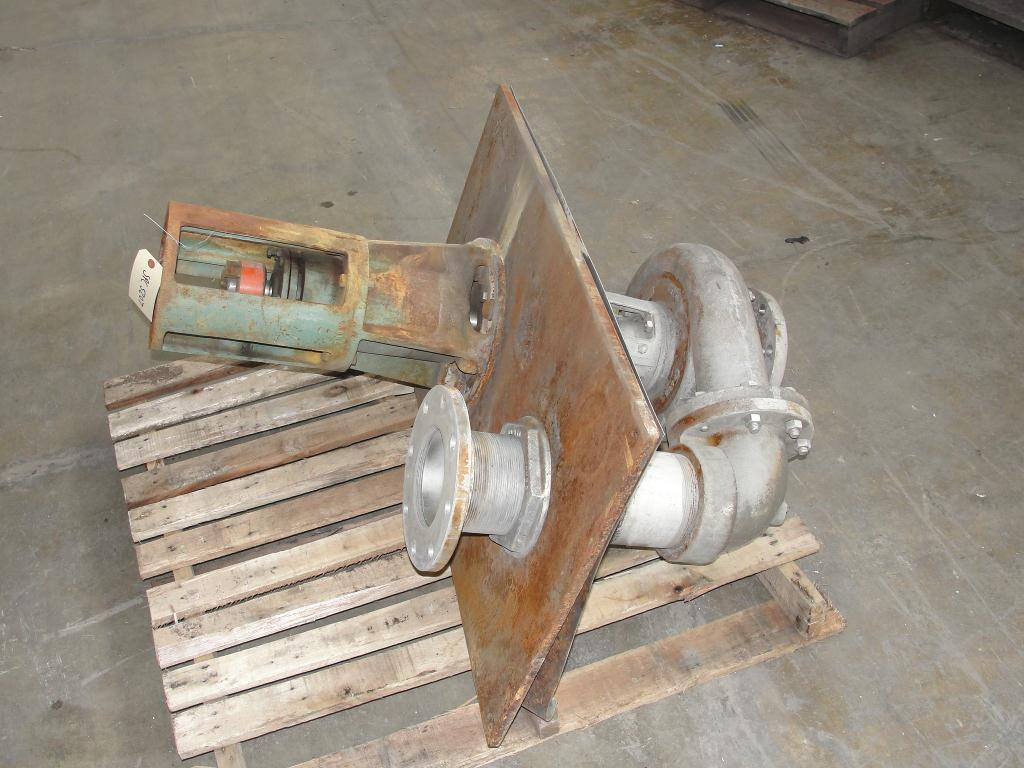 Pump 5x4x9.5 Deming vertical centrifugal pump model 5562/4MD, 316 SS1