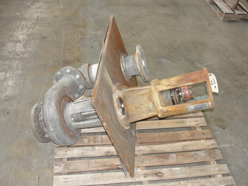 Pump 5x4x9.5 Deming vertical centrifugal pump model 5562/4MD, 316 SS2