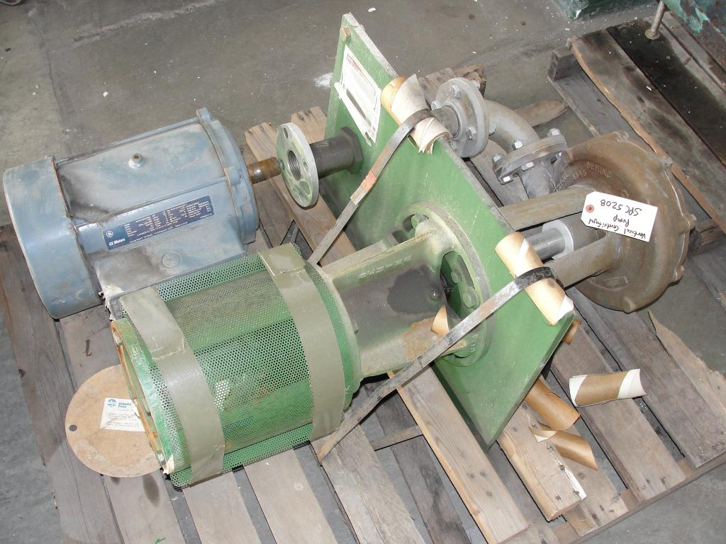 Pump 3x2x10.125 Deming vertical centrifugal pump model 5562/2M, 316 SS