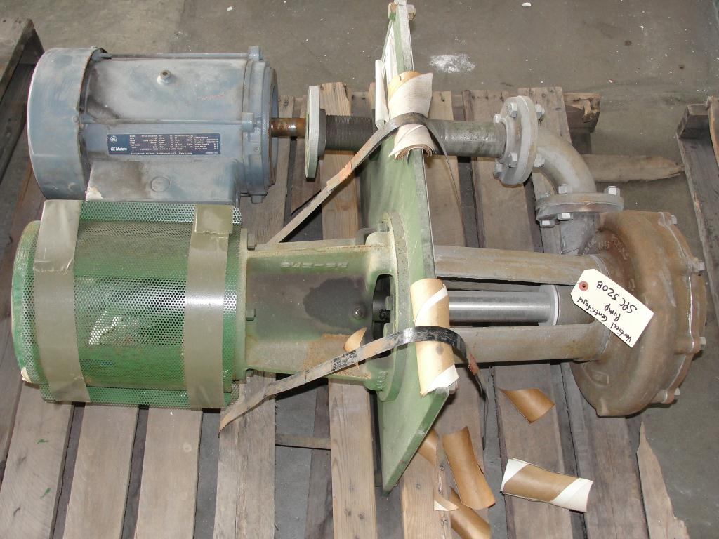 Pump 3x2x10.125 Deming vertical centrifugal pump model 5562/2M, 316 SS2