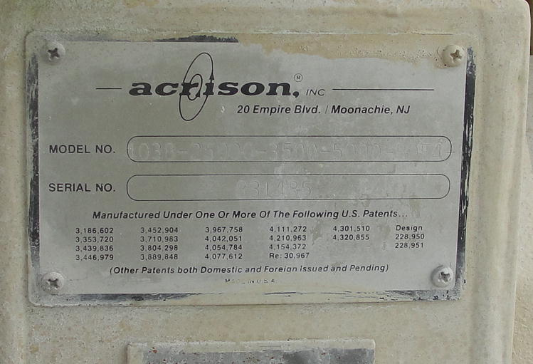 Feeder 6 Acrison screw feeder 6, Stainless Steel Contact Parts5