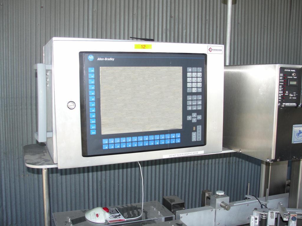 Labeler New Jersey pressure sensitive labeler model Pacestepper 331L, wrap around4