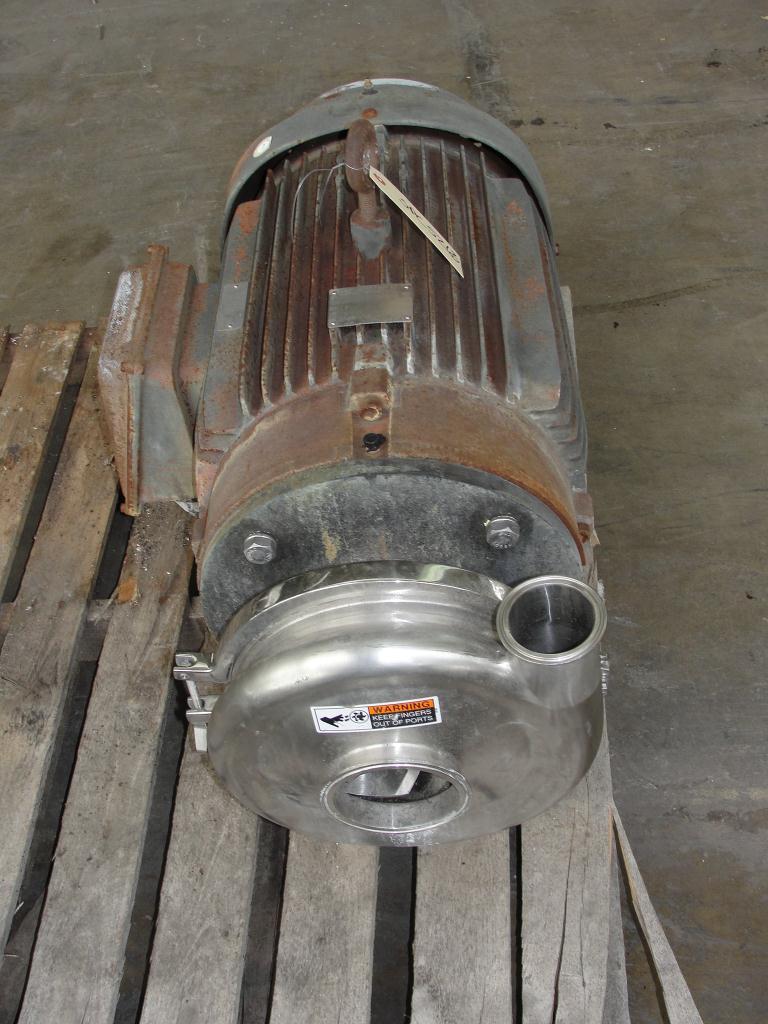 Pump 3x2.5x8.68 Waukesha centrifugal pump, 50 hp, Stainless Steel2