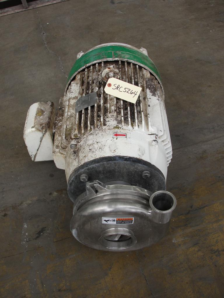 Pump 3x2.5x8.687 Waukesha centrifugal pump, 50 hp, Stainless Steel2