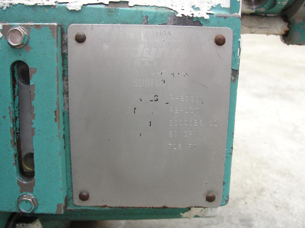 Pump Sundyne centrifugal pump, 30 hp, 316 SS2