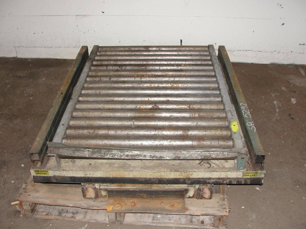 Material Handling Equipment scissor lift table, 2000 lbs. Southworth 46 x 36 platform1