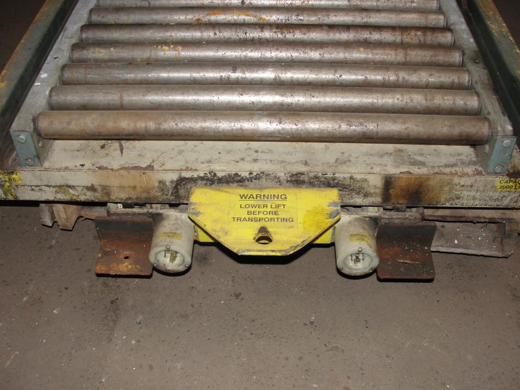 Material Handling Equipment scissor lift table, 2000 lbs. Southworth 46 x 36 platform2