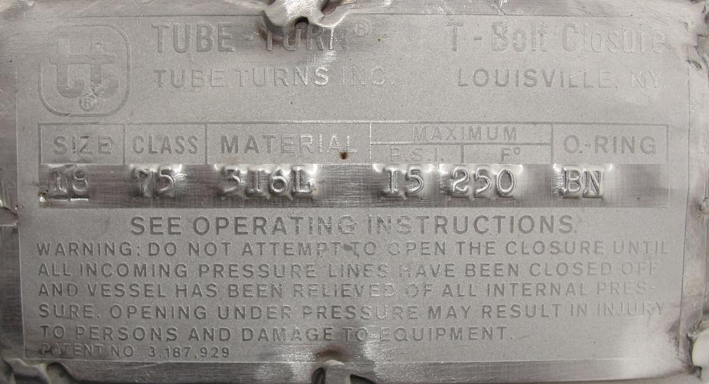 Kettle 400 gallon Groen hemispherical bottom kettle, scrape agitator, 100 psi jacket rating, 316 SS4