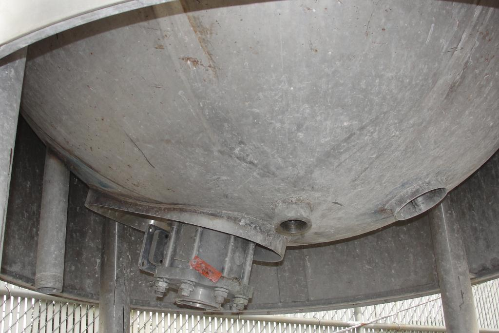 Kettle 400 gallon Groen hemispherical bottom kettle, scrape agitator, 100 psi jacket rating, 316 SS6