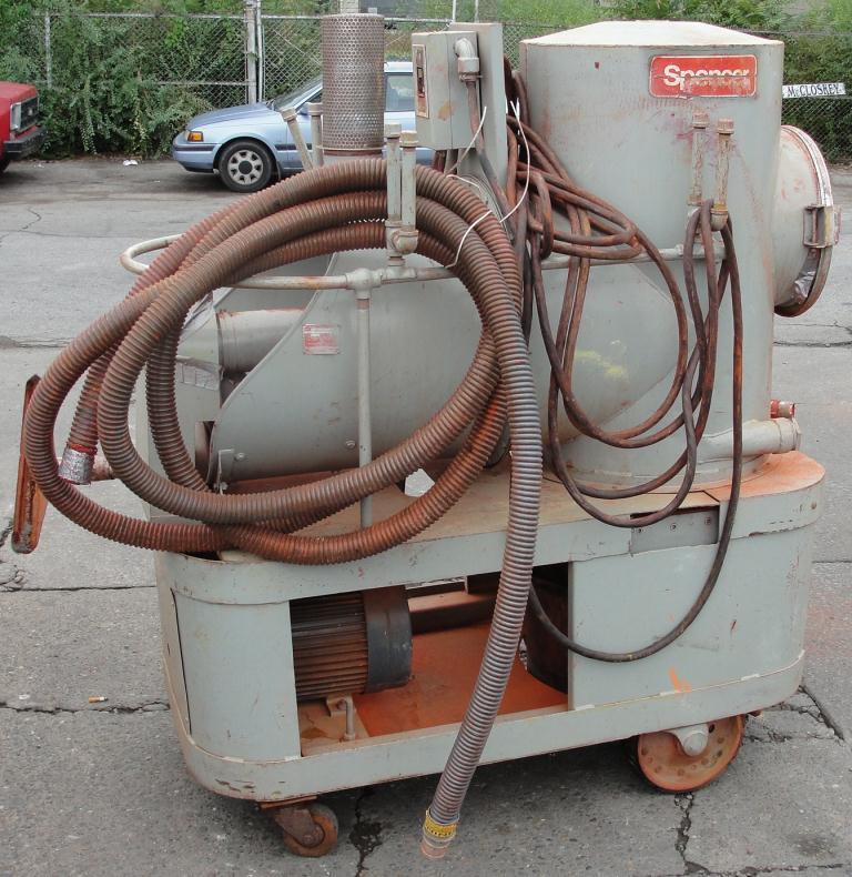 Miscellaneous Equipment 5 hp Spencer industrial vacuum cleaner model P-1422