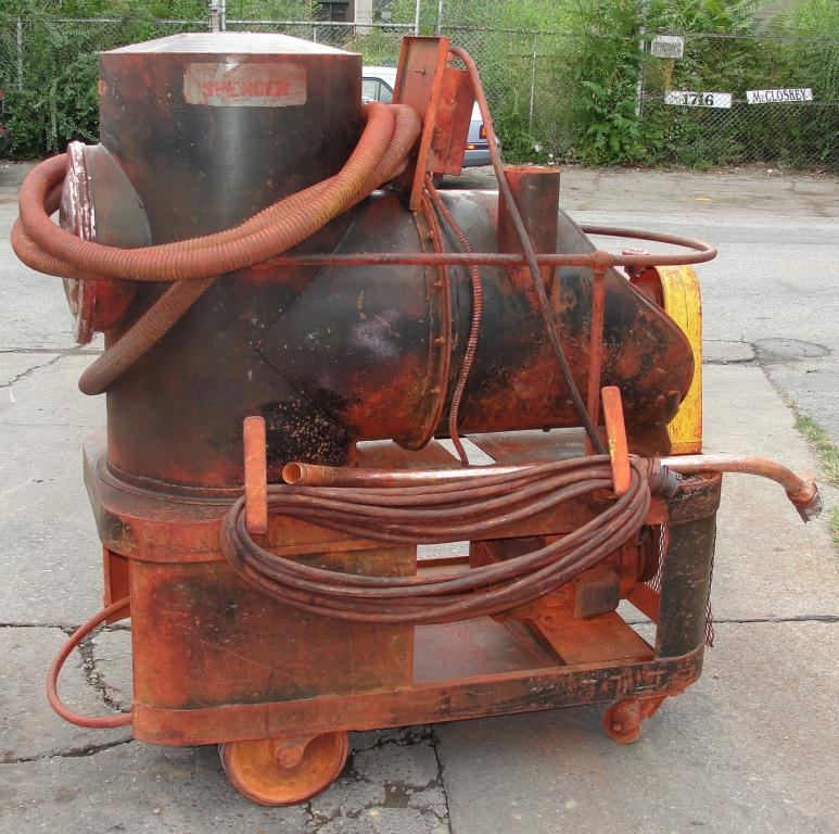 Miscellaneous Equipment 5 hp Spencer industrial vacuum cleaner model P-1422