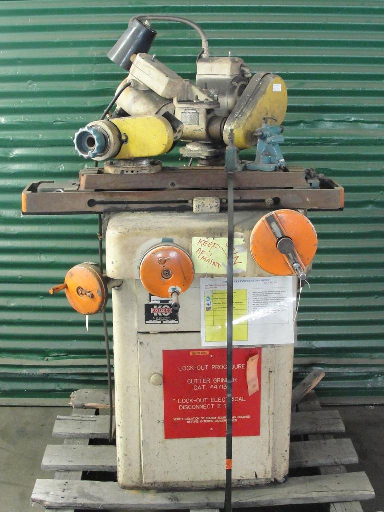 Machine Tool K.O. Lee Co. tool sharpener model BA9601