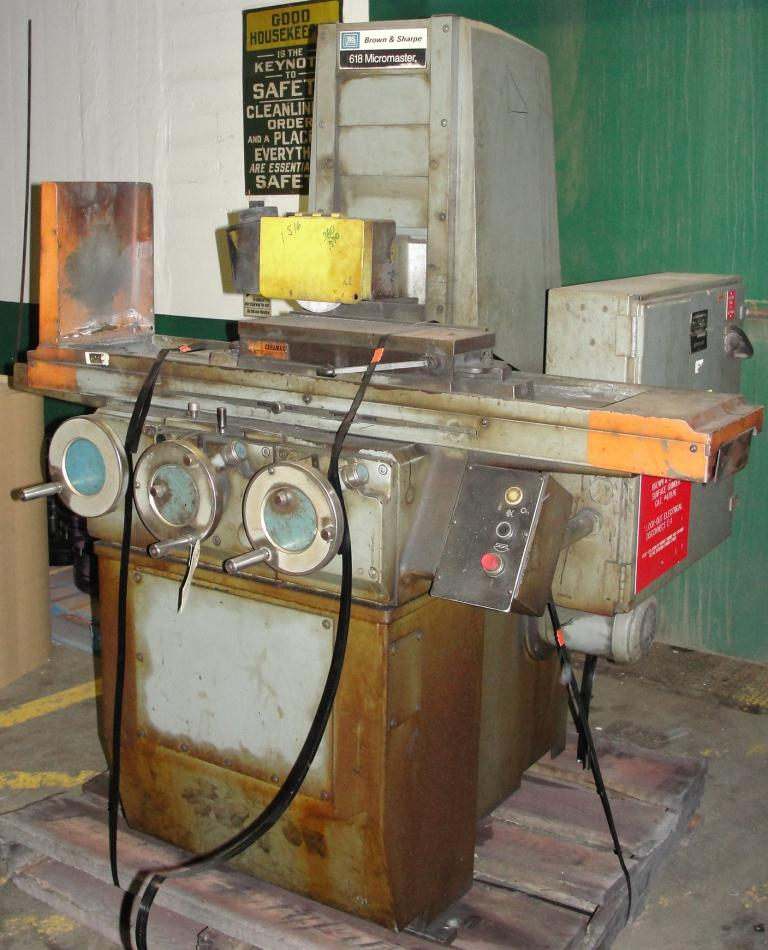 Machine Tool Brown and Sharpe surface grinder model 618 Micromaster