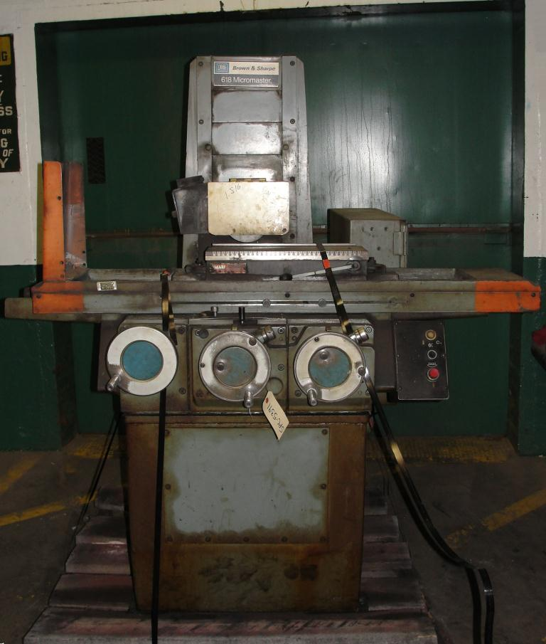 Machine Tool Brown & Sharpe surface grinder model 618 Micromaster2