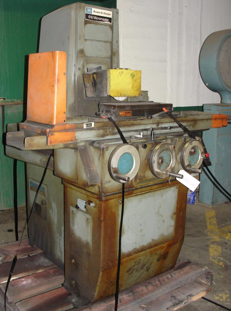 Machine Tool Brown & Sharpe surface grinder model 618 Micromaster3