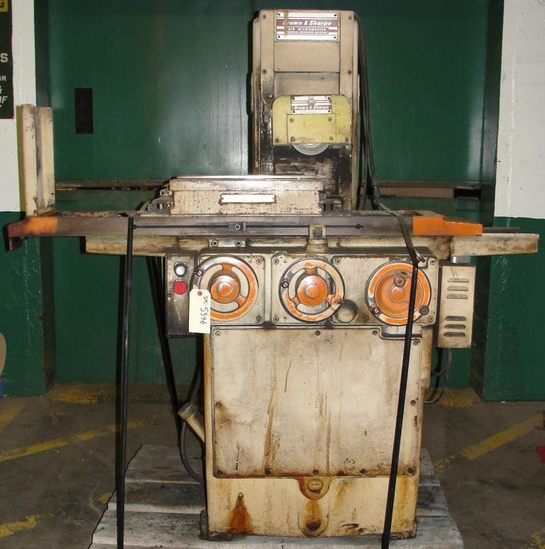 Machine Tool 6 x 18 Brown and Sharpe surface grinder model 618 Micromaster2