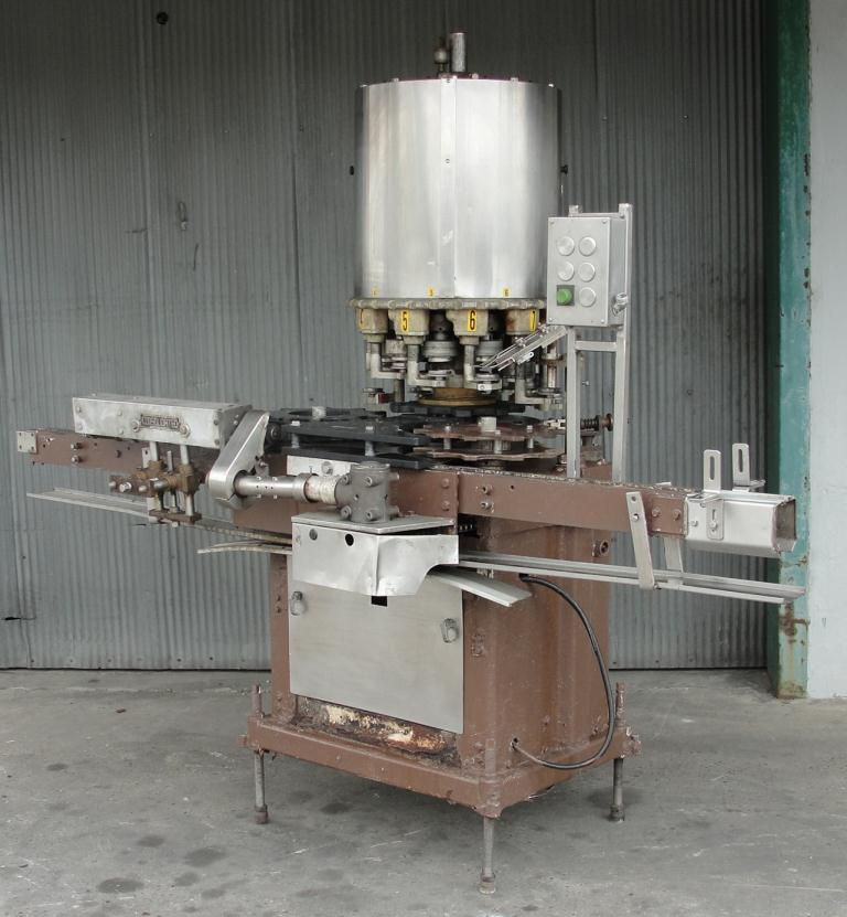 Capping Machine Consolidated screw capper model TG-10, 58 mm1