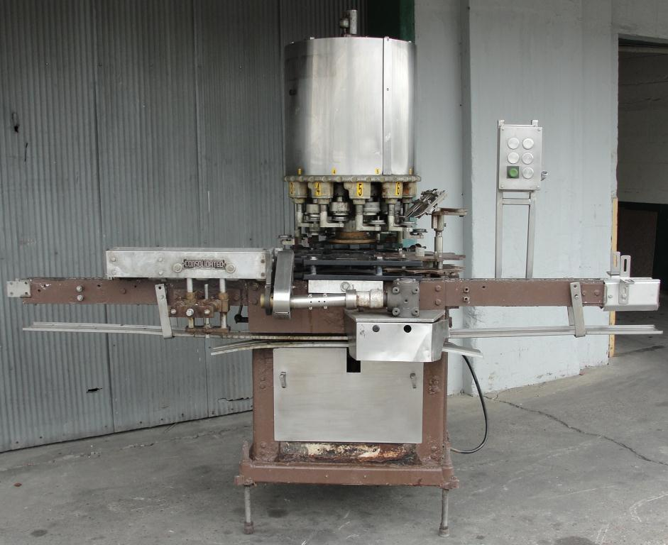 Capping Machine Consolidated screw capper model TG-10, 58 mm2
