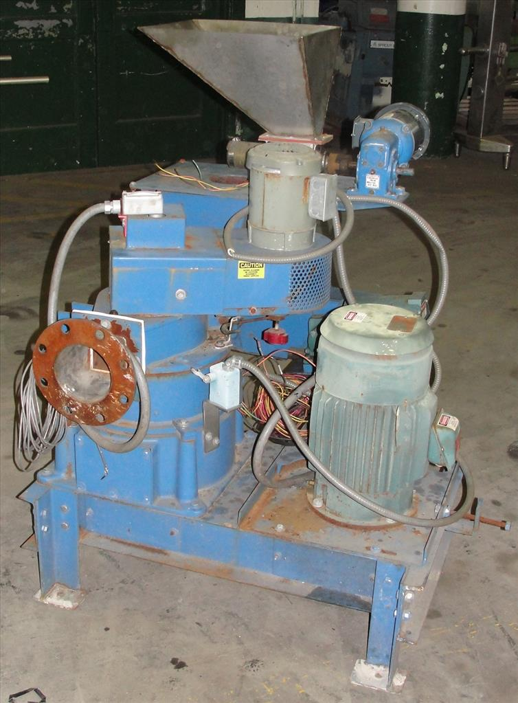 Pulverizer 10ACM Hosokawa Mikro pulverizer mill, 8 feed, CS, 10 hp1