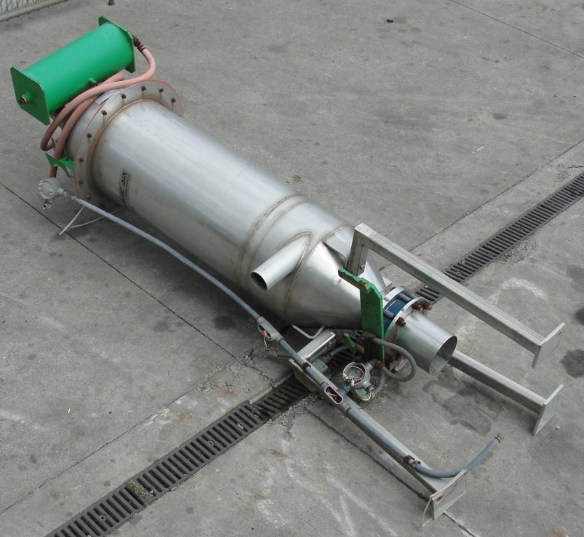 Conveyor Dynamic Air Conveying Systems pneumatic conveyor 304 SS, 3 hp 28 cfm @ 7 psi5