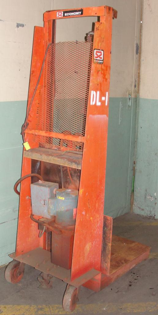 material handling equipment 1500 lbs capacity economy dru