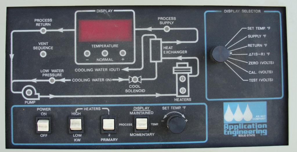Boiler 9 kw Application Engineering model TDV-1C process temperature control unit, water heater and cooler5