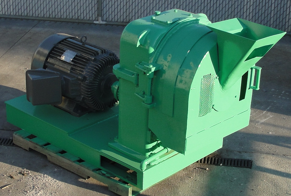 Mill 60 hp Richard Sizer Ltd pellet mill model Orbit 70, 14 diameter die