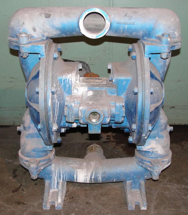 Pump 2 Warren-Rupp/SandPiper diaphragm pump, Aluminum1