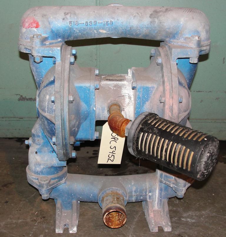 Pump 2 Warren-Rupp/SandPiper diaphragm pump, Aluminum2
